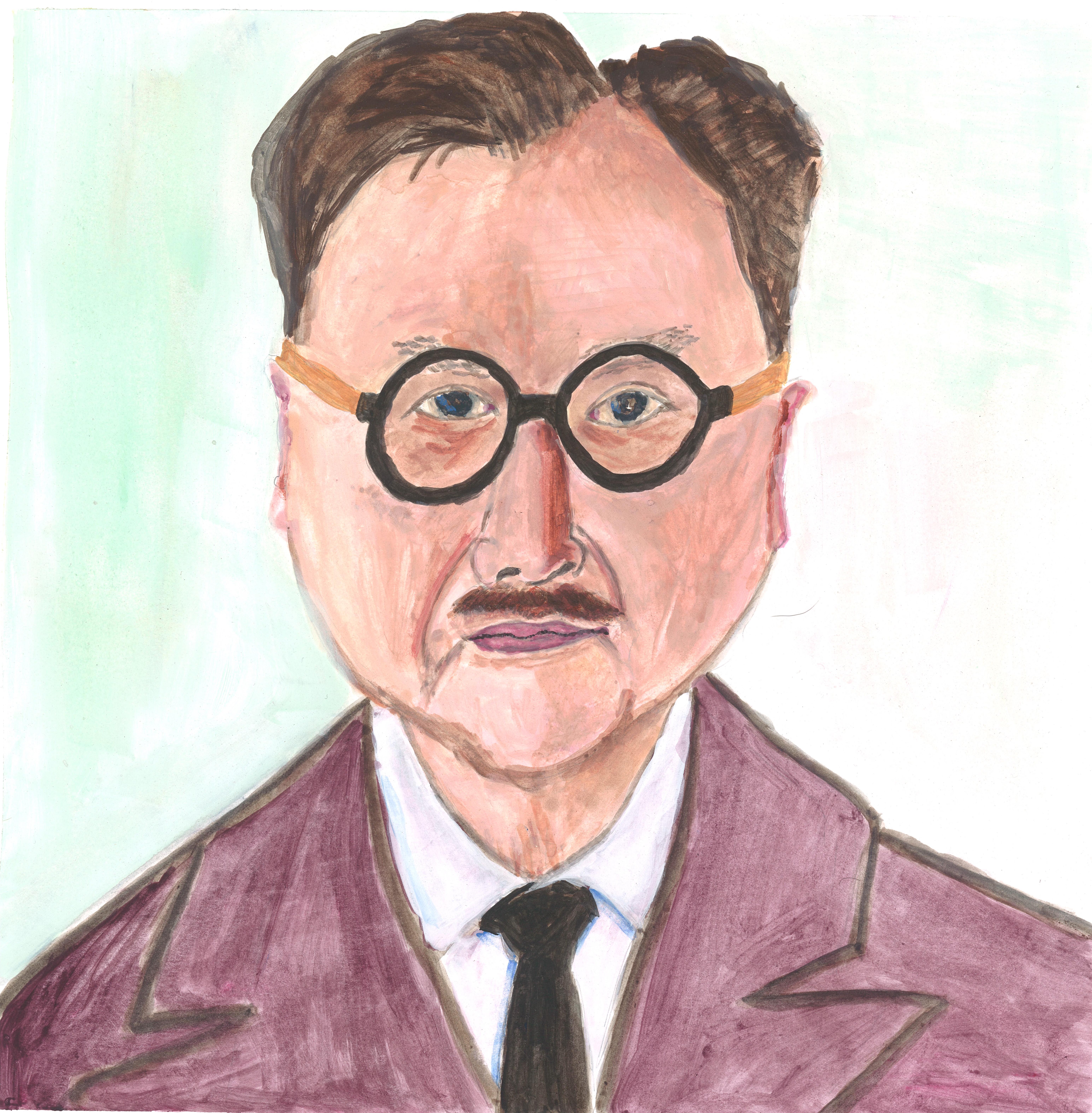 Portrait of Mr. Chow