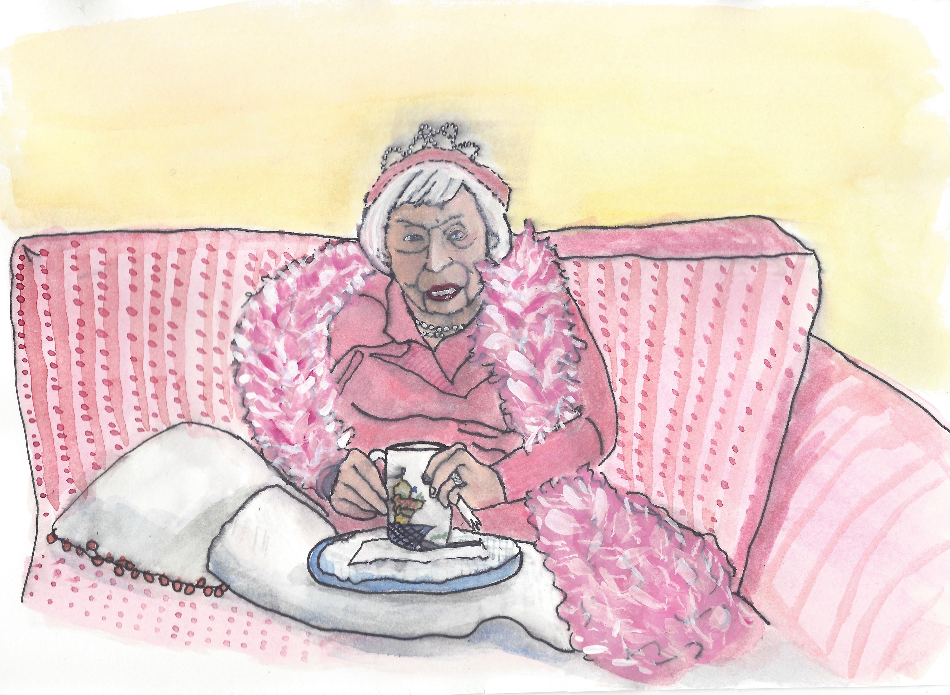 The Pink Birthday Boa